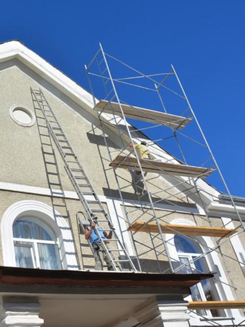 Home Scaffolding Stucco Repair Lehigh Acres