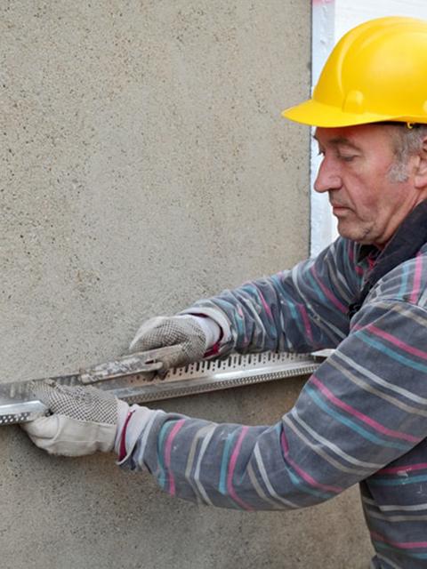 Joe Leveling Stucco Wall Naples
