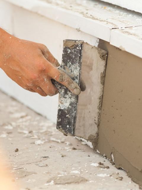 Stucco Repair Under Window Sill Cape Coral